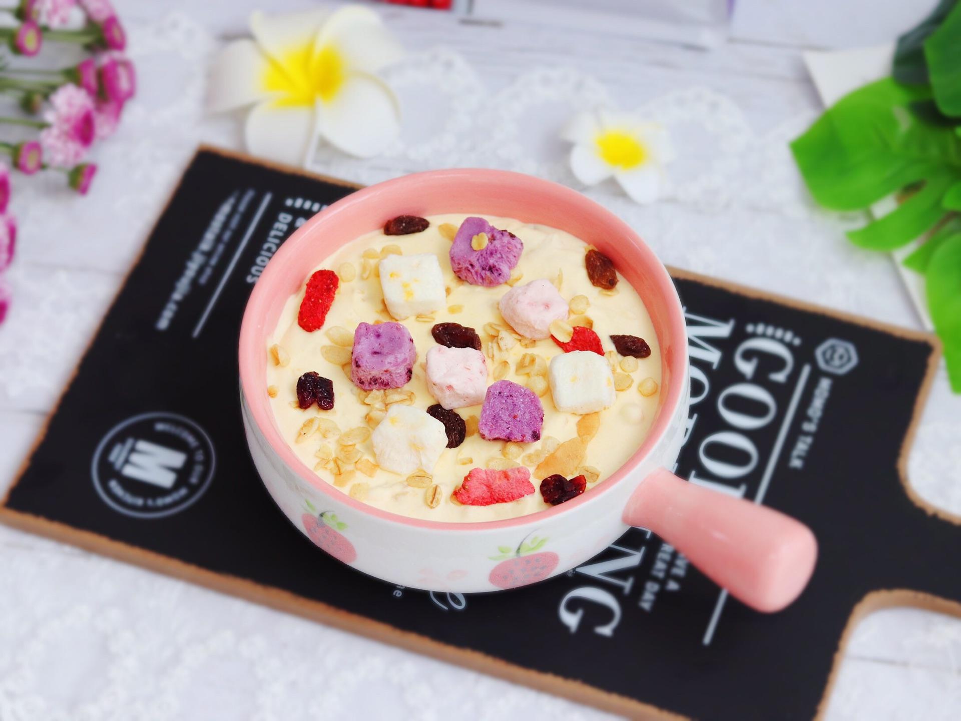 Roasted Sour Plum & Toasted Oat Ice Cream