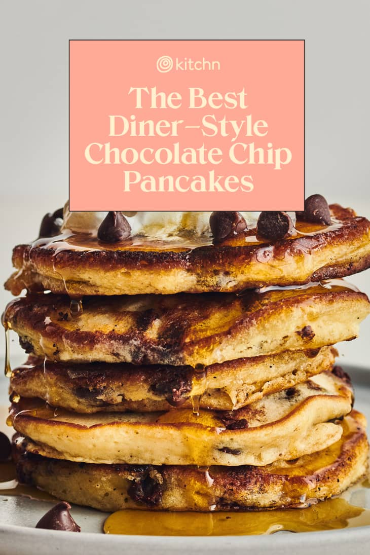 best diner style chocolate chip pancakes