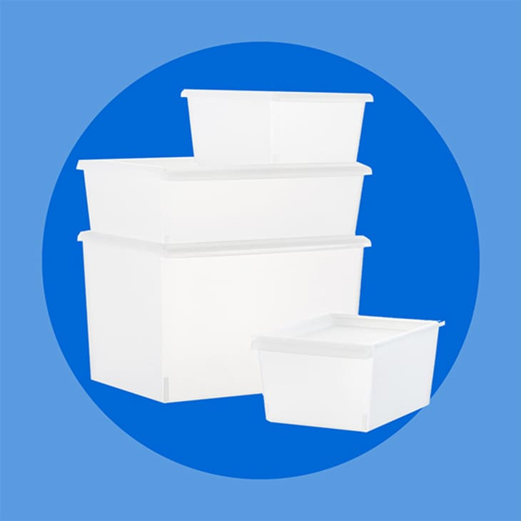 Product Image: Clear Plastic Bins