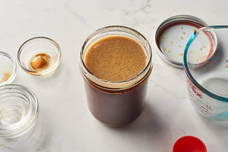 sitr fry sauce in mason jar