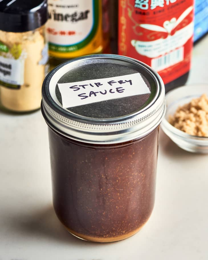 How To Make an All-Purpose Stir-Fry Sauce